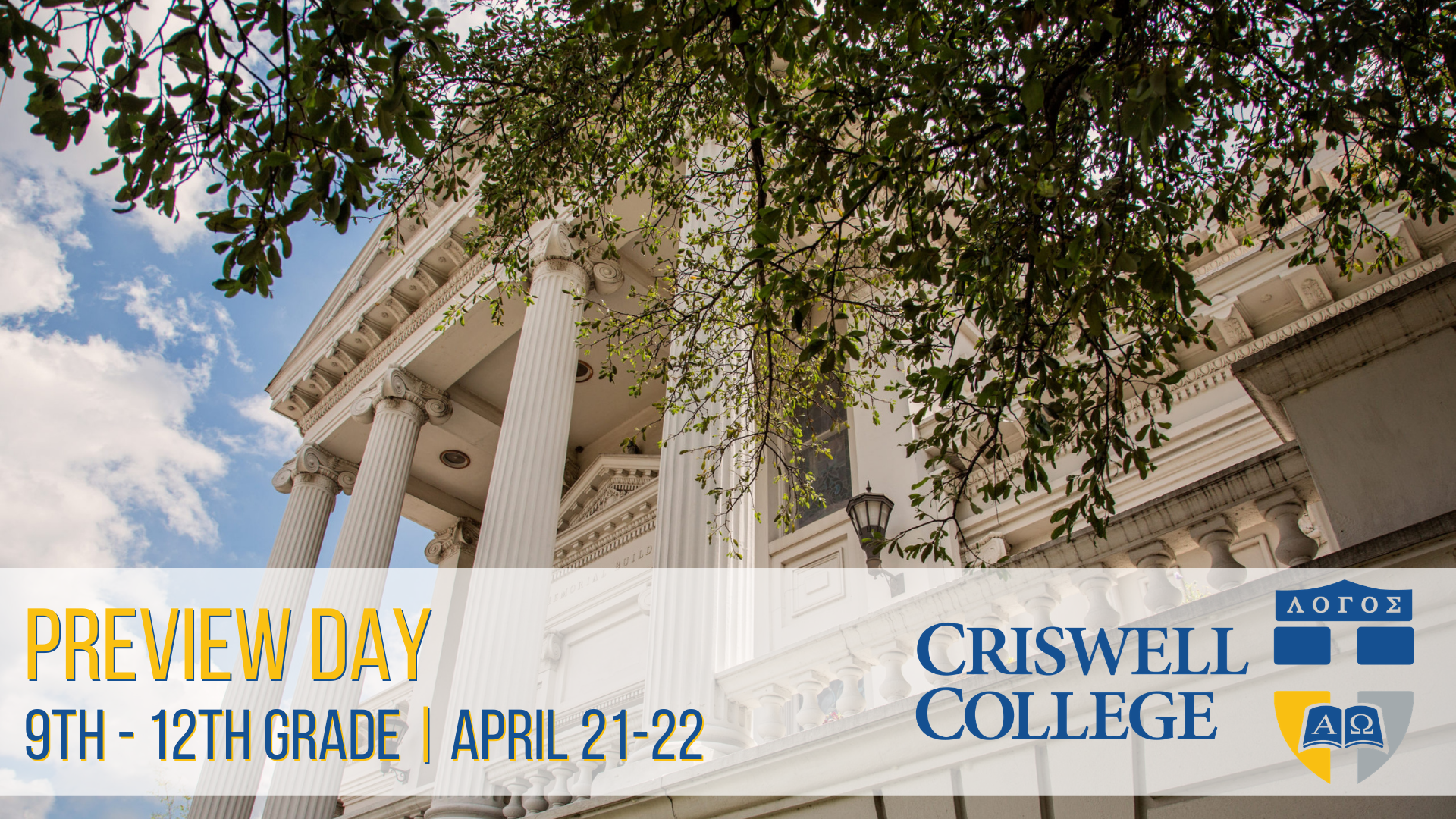 Criswell Preview Day