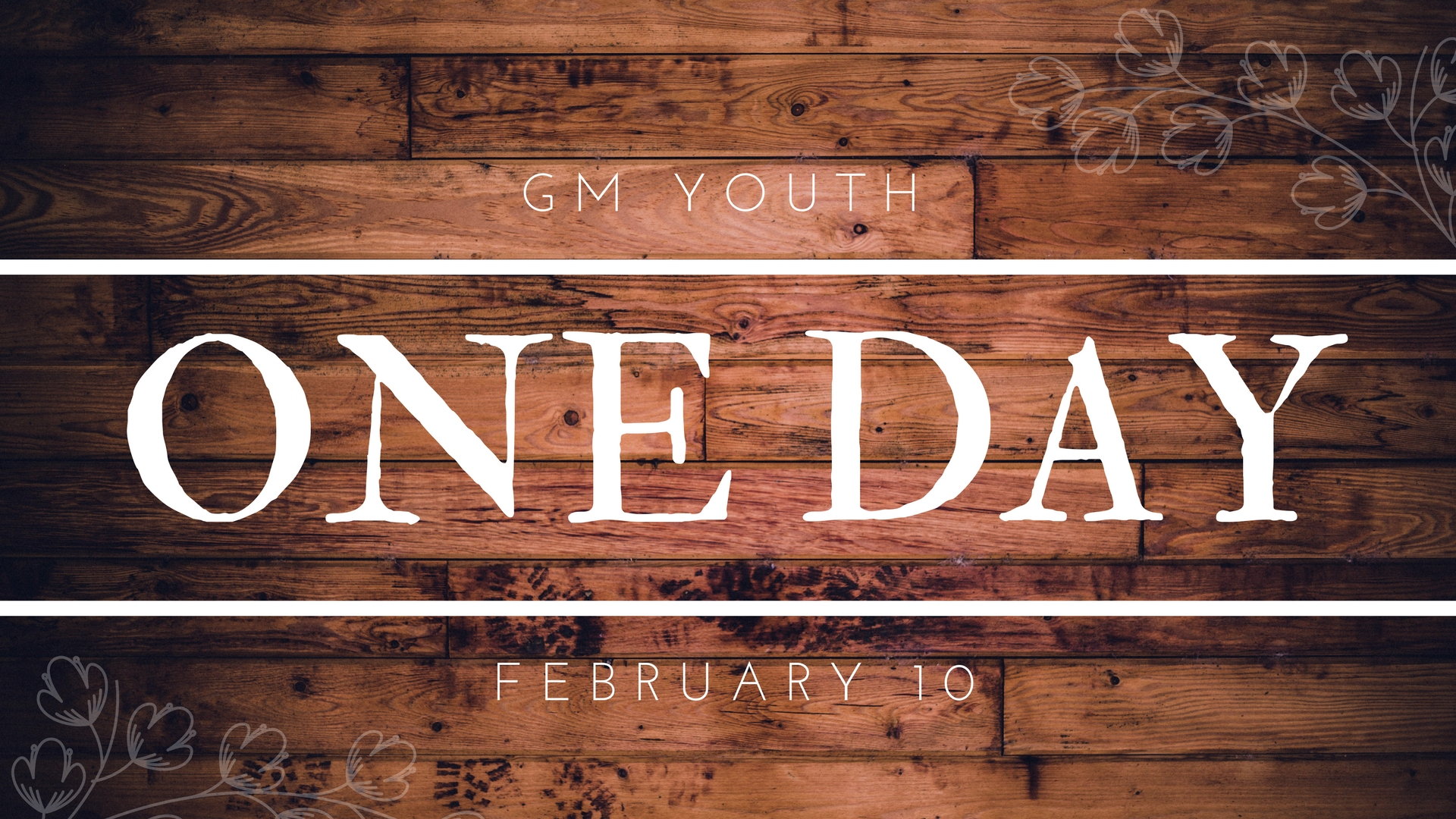 GM Youth: One Day Event